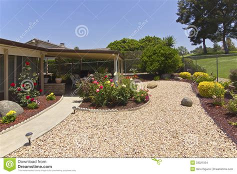 backkyard garden and patio stock images image 33021054