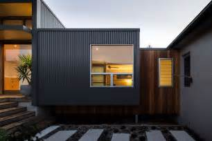 Metal Garage With Living Space by Redhead Alterations 1970s Home Transformed For Energy