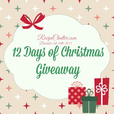 Days Of Giveaways - 12 days of christmas giveaway day one enter to win