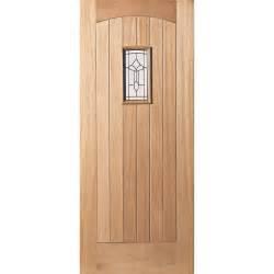 French Fire Doors - cottage hardwood veneer glazed external door next day delivery cottage hardwood veneer glazed