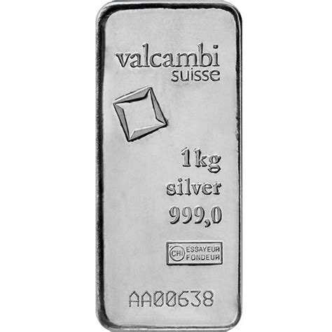 1 Kilo Silver Bar Valcambi by Buy 1 Kilo Valcambi Suisse Cast Silver Bullion Bars