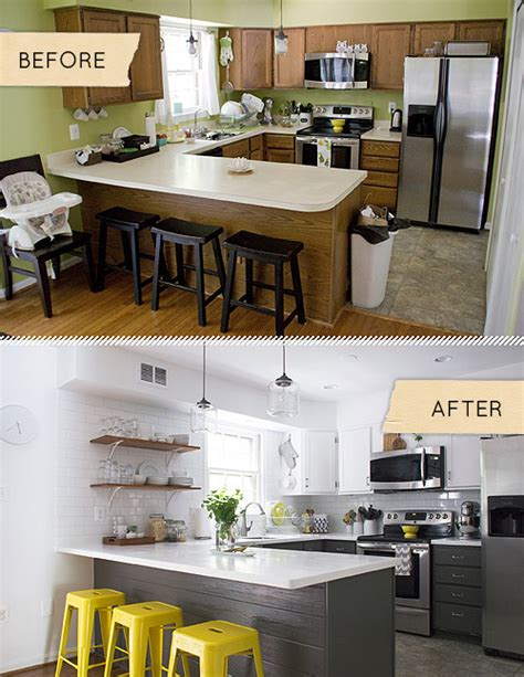 before and after decorating before after a kitchen is totally transformed with a