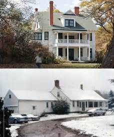 The conjuring movie house top vs the real perron family home in the