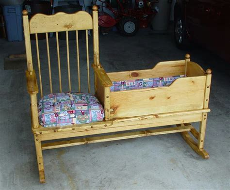 Rocking Chair With Cradle by Rocking Chair Cradle Baby Minions