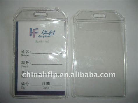 Id Card Holder Id Card Cover Id Card Kulit Id Card Name Tag 288 pvc clear id card cover buy pvc clear cover pvc clear id