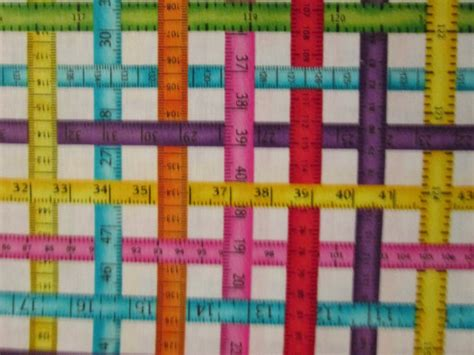 printable fabric tape measure items similar to measuring tapes sewing bright colors
