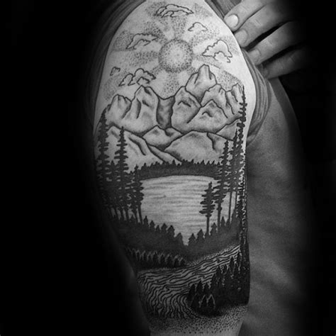 tattoo ideas river 50 river tattoos for flowing water ink ideas