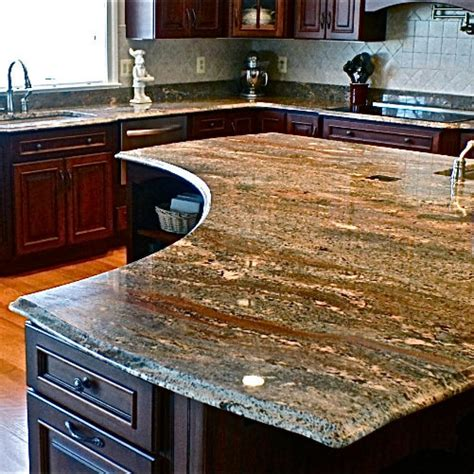 Granite Kitchen Counter by How To Choose A Great Color For Your Granite Countertops