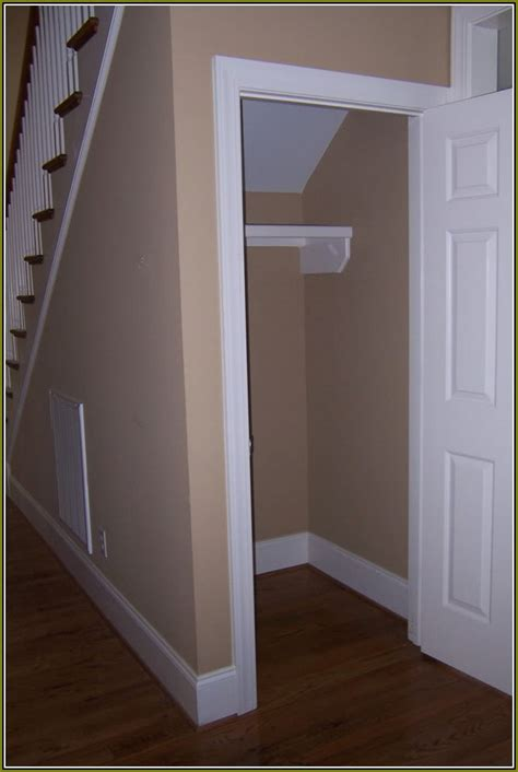 Closet The Stairs by Coat Closet Organization Home Design Ideas
