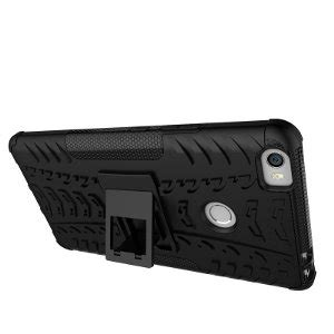 Armor Rugged Back Stand Soft Cover Casing Xiaomi Redmi 4 Prime jual rugged xiaomi mi max prime stand soft back