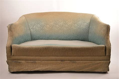 reupholstery sofa deco loveseat sofa needs reupholstery for sale at 1stdibs