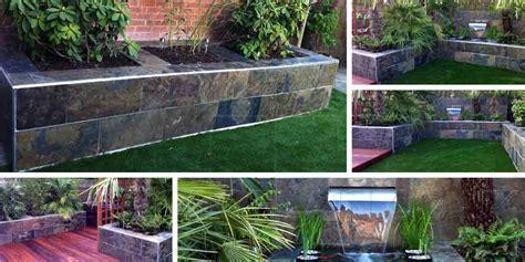 Beauty Of Slate Outdoor Tiles In Your Garden Tiles Garden Wall Tiles