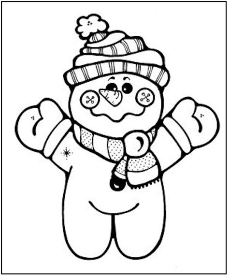 Free Printable Snowman Coloring Pages For Kids Free Printable Snowman Coloring Pages