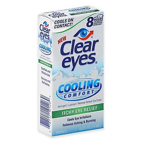 clear eyes cooling comfort eye drops clear eyes 174 5 oz cooling comfort redness relief eye