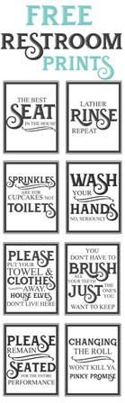 Bathroom Baskets Sayings Best 25 Bathroom Signs Ideas On Bathroom