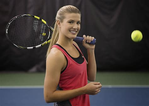 eugenie bouchard new hottest pictures 2014 all stars