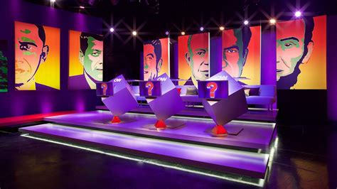game show layout cnn quiz show set design gallery