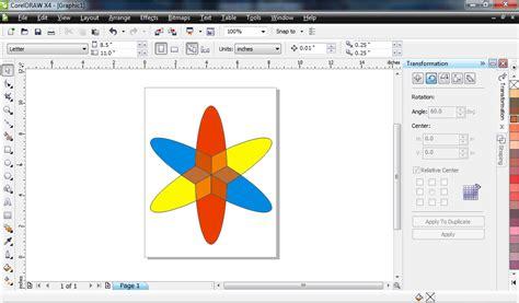 membuat logo menggunakan coreldraw x4 cara membuat logo indosat dengan menggunakan coreldraw x4