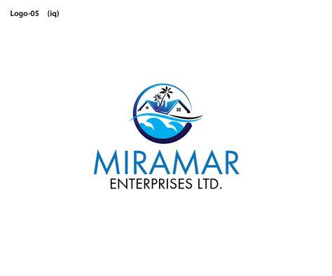 design management partnership ltd upmarket serious logo design for miramar enterprises ltd