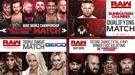 match card template tag team elimination chamber and 2018 match card remake ec