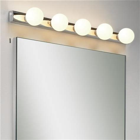 bathroom mirrors with lights uk 0957 cabaret 5 mirror light the lighting superstore