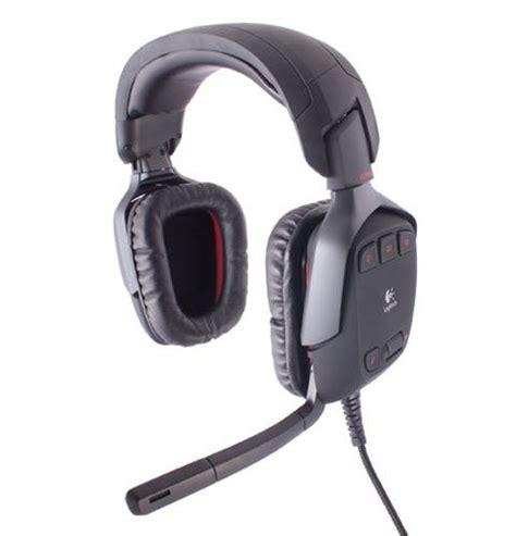 Headset Logitech G35 logitech g35 surround sound headset slide 2 slideshow
