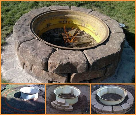 make a backyard fire pit backyard fire pit diy fire pit design ideas