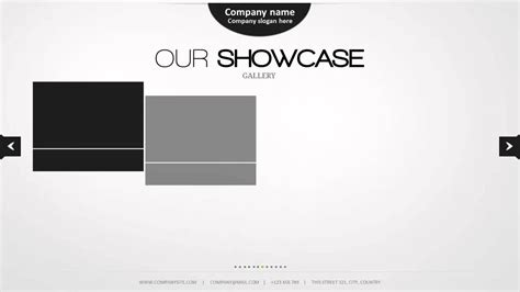 powerpoint templates free minimalist minimal powerpoint template youtube