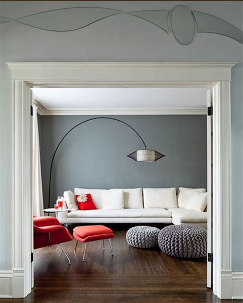accent color for gray what colors go with dark grey walls home decorating