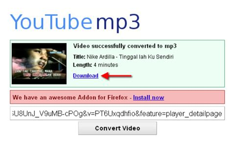 cara download dari youtube ke format mp3 cara mengubah video youtube ke format mp3 dan
