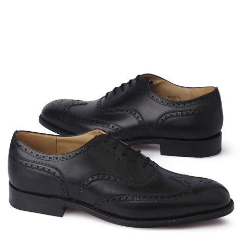 church s chetwynd g brogue shoes in black for lyst