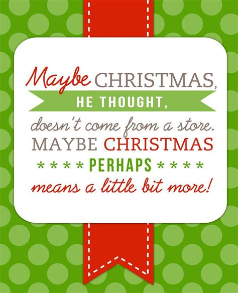 printable xmas quotes free printable dr seuss christmas quote christmas
