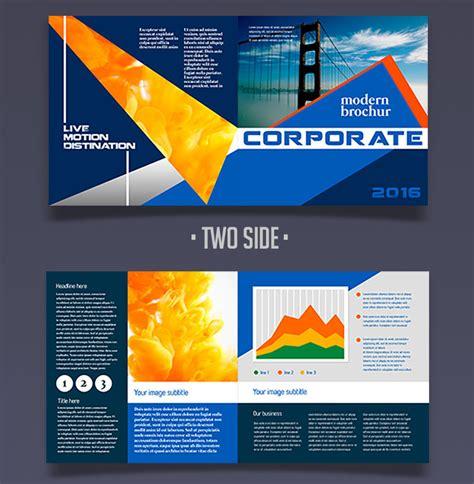 12 Attention Grabbing Bi Fold Brochure Free Psd Templates Bi Fold Brochure Template Free