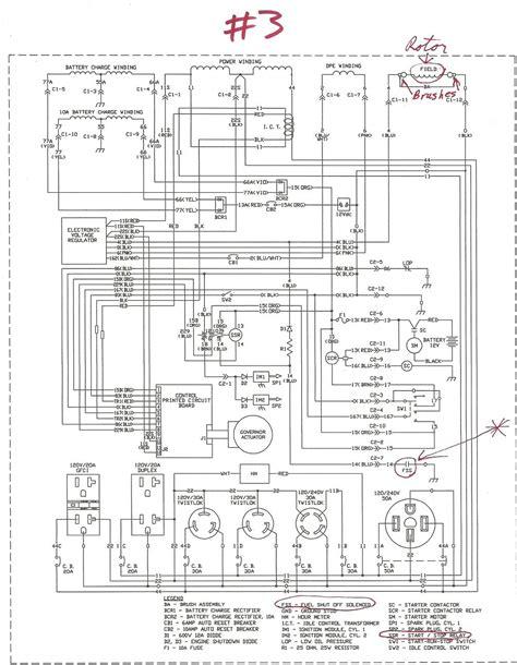 generac voltage regulator wiring diagram voltage