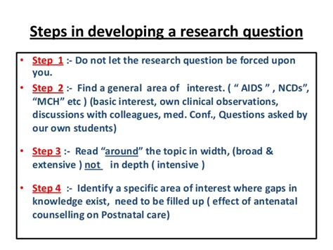 pattern of research questions 7 steps to writing research questions hypotheses