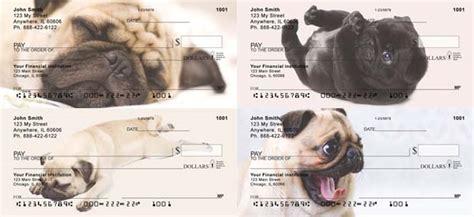 pug personal checks sleepy pug checks petchecksdirect