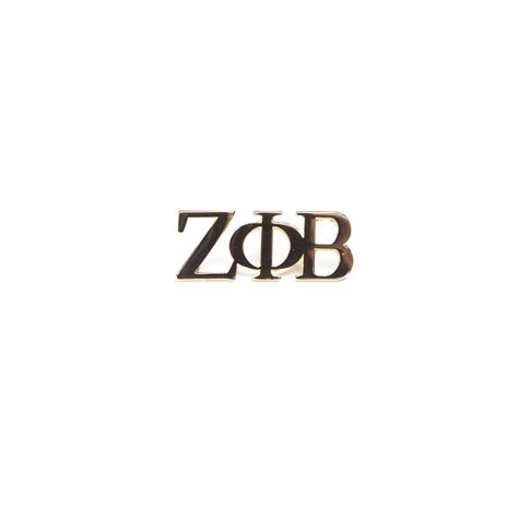 Zeta Phi Beta Letter Of Recommendation zeta phi beta 3 letter gold pin