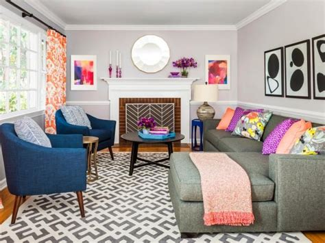 how to make your house look modern how to make your living room modern fun and bright hgtvmagazine http www hgtv com design