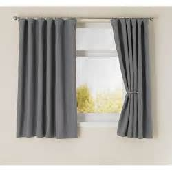 Blackout Curtains Gray Wilko Blackout Curtains Grey 167x183cm At Wilko