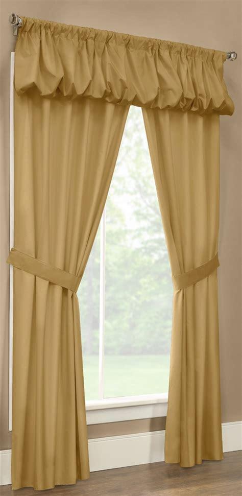 5 piece curtain sets prescott 5 piece rod pocket curtain set thermalogic