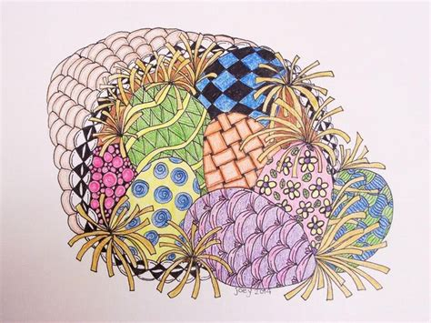 zentangle basket pattern 38 best zentangle easter images on pinterest easter eggs