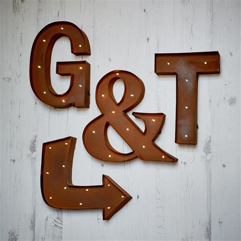carnival wall light up letters