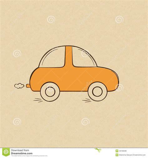 doodle car car doodle drawing stock vector image 43135039