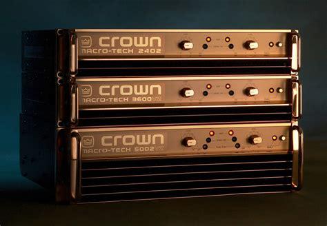 Power Crown Macro Tech 5002 Vz namm macro tech anniversary editions news audiofanzine