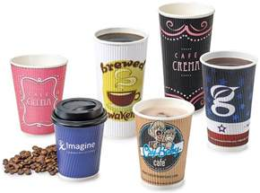 coffee cups new custom printed paper coffee cups up and smell
