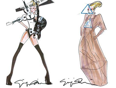 Dress Arianna Vld el vestuario the born this way tour de