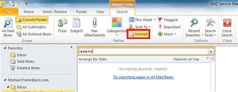 Search For Unread Emails In Outlook How To Find Unread Message In Outlook User