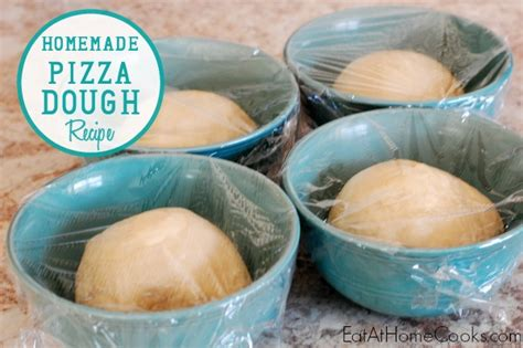 Handmade Pizza Dough - 5 kitchen tools to help you save time eat at home