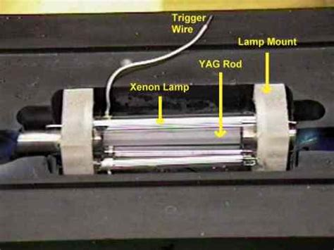 diode pumped xenon lasers the professor s homebuilt lasers site yag lasers