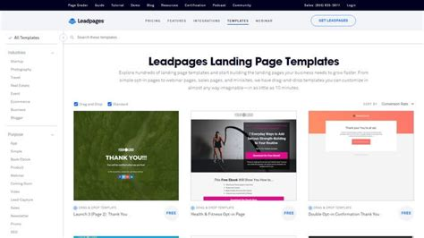 How To Capture Email Subscribers For Free Ali Rand Leadpages Landing Page Templates
